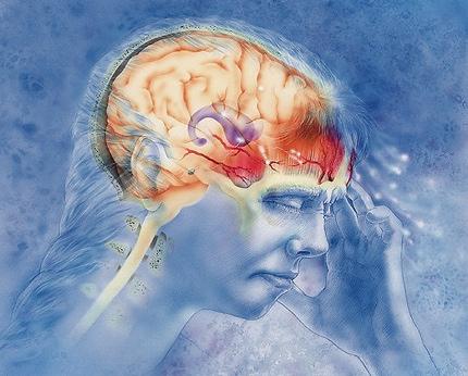 Мигрень головная боль